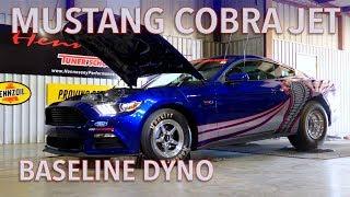 871 RWHP Mustang Cobra Jet Baseline Chassis Dyno Testing