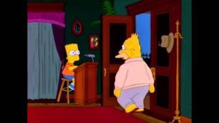 Grandpa Simpson Enter Exit