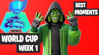 Fortnite World Cup BEST Moments Highlights [Fortnite Tournament 2019]