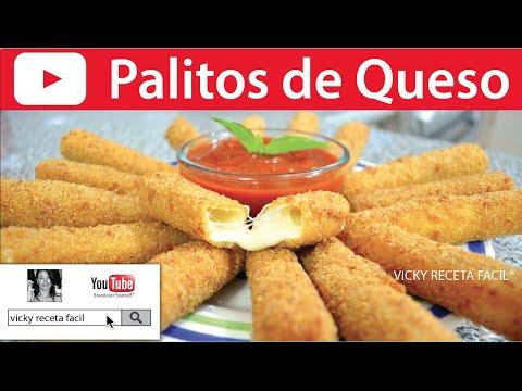 PALITOS DE QUESO | Vicky Receta Facil