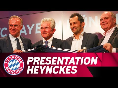 ReLive   Presentation of Jupp Heynckes