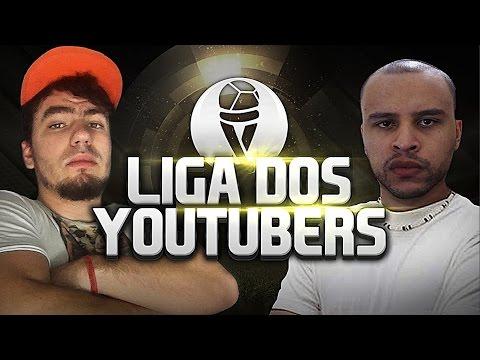 FIFA 15   LIGA DOS YOUTUBERS - FEULAS VS FIFALIZE
