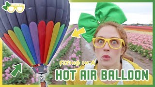Hot Air Balloon Ride | Brecky Breck At The Wooden Shoe Tulip Festival