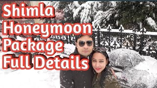 Shimla Honeymoon Resort Package @18000₹ Full Details | Call For Booking:98115-55716