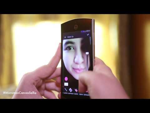Micromax Canvas Selfie Fan Unboxing Video!