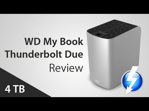 WD My BOOK Thunderbolt Duo - RAID Festplatte REVIEW / TEST [Deutsch/German]