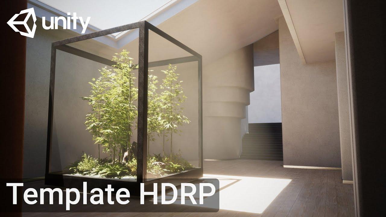 Unity : Nouveau template HDRP disponible !