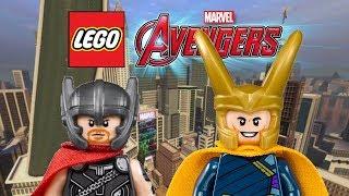 Creating Thor And Loki (Ragnarok)! | LEGO Marvelu0027s Avengers Customs