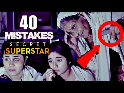 Download 40 Mistakes In SECRET SUPERSTAR - Full Hindi Movie Mistakes Secret Superstar #2 Movie Mistakes Video HD Mp4 3GP Video and MP3