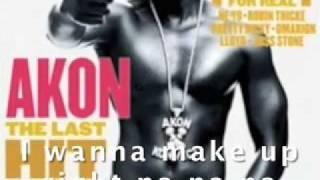 Akon--Right Now (Na, Na, Na), LYRICS VIDEO