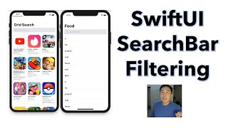 SwiftUI 2.0 How to Build a Search Bar with Filtering