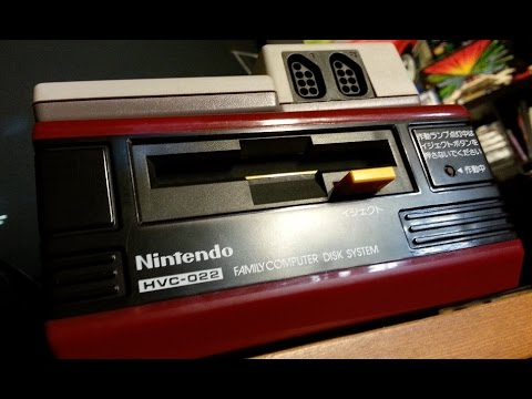 Classic Game Room - NINTENDO FAMICOM DISK SYSTEM console review