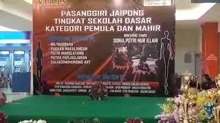 Sonia putri jaipong cilik bintang tamu viris entertainment lagu subali sugriwa 2018