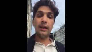 Un palestinien se moque de Saber Rebaï