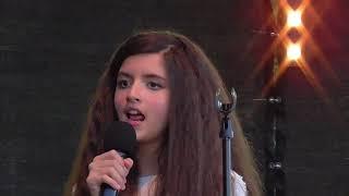 Angelina Jordan - Faded - Proysenfestivalen - 21.07.2017 - Sound enhanced