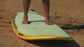 SUP instruction with Dave Kalama: How to Stand Up Paddle Board: Lesson 03 - Stand Up