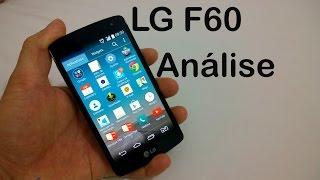 LG F60 - Análise do Aparelho [Review Brasil]
