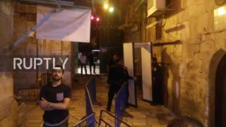 East Jerusalem: Israeli police remove metal detectors outside al-Aqsa compound