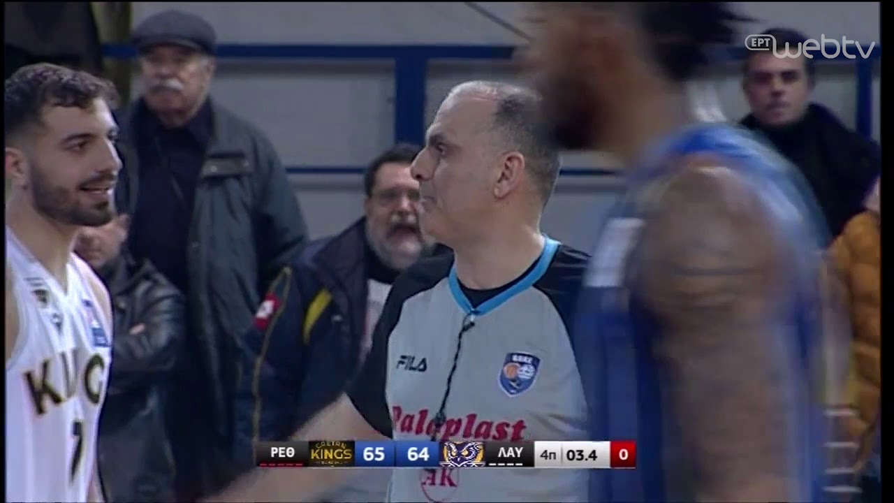 Basket League 2019-2020: ΡΕΘΥΜΝΟ – ΛΑΥΡΙΟ | HIGHLIGHTS | 22/02/2020 | ΕΡΤ