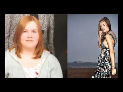 Похудела стала моделью