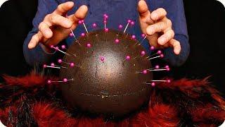 ASMR Pin Head - Scalp, Brain and Head Massage (No Talking)