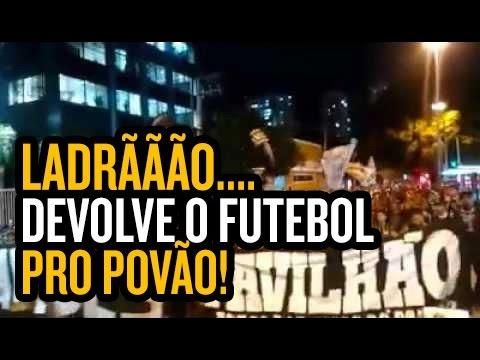 Unificadas, organizadas do Corinthians organizam protesto na sede da FPF