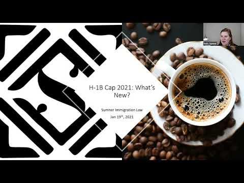 January 2021 H 1B CAP