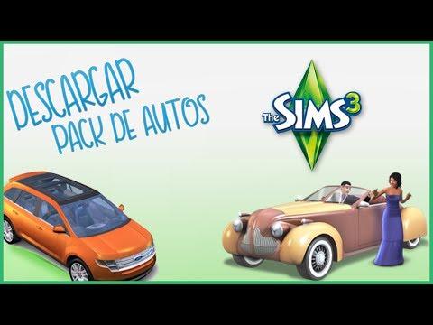 Descargar E instalar Pack de Autos modernos para los SIMS 3