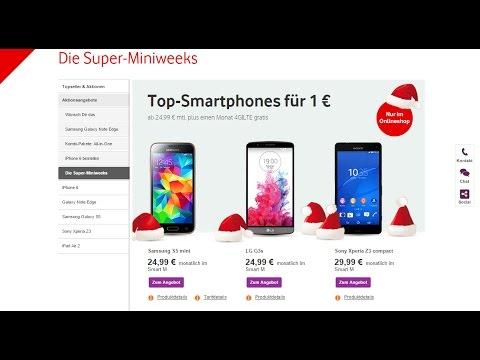 Vodafone Dezember 2014 Angebot mit dem Samsung Galaxy S5 mini