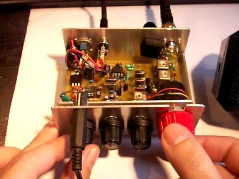 how to make a radio transmitter and receiver at home