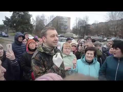 Народный сход против застройки леса в микрорайоне Бор города Алексина