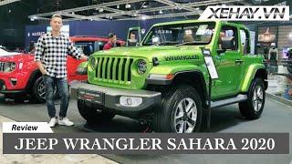 Jeep Wrangler Sahara 2 Cửa Mui Trần - Xe Offroad Siêu Sành điệu | XE HAY