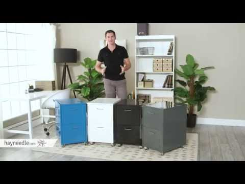 Maxwell Metal Filing Cabinet – Product Review Video