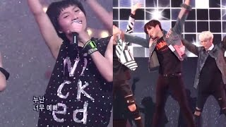 Taemin 태민 - Replay 누난 너무 예뻐 Then And Now Side By Side Fancam