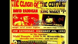 King Waggy T vs David Rodigan 1993
