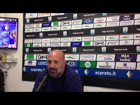 Preview video Ac Prato-Como Calcio 0-1, le interviste del post partita