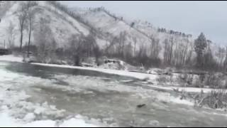 Off-road 4x4 trip winter in Mongolia2016