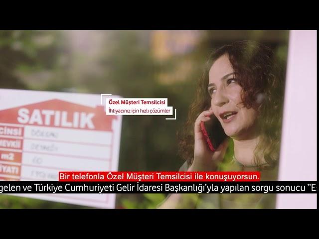 Esnafımız için İşim Durmasın Paketi Vodafone Business'ta!