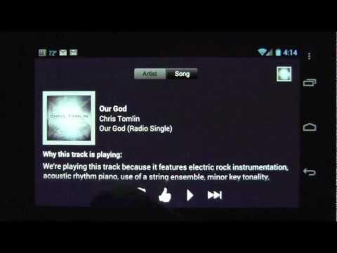 Pandora internet radio Android App Review - CrazyMikesapps
