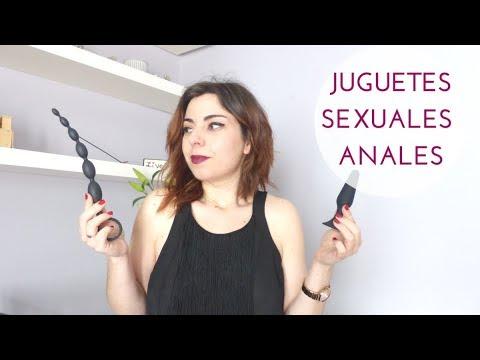 Así se usan los juguetes sexuales anales  👌👈