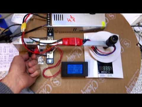 Тест мотора Sunnysky X2216 7 1400KV Brushless Motor For RC Model banggood