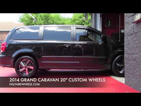 HILLYARD CUSTOM RIM&TIRE 2014 DODGE GRAND CARAVAN CUSTOM 20 INCH RIMS