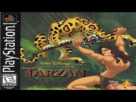 Полное прохождение (((Sony PlayStation))) Disney's Tarzan / Тарзан Диснея