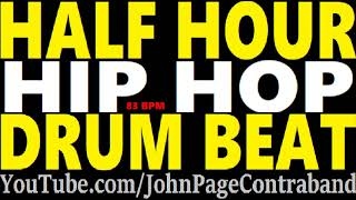 Half Hour Rap Hip Hop Drum Beat Loop Track FREE