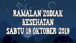 Ramalan Zodiak Kesehatan Sabtu 19 Oktober 2019
