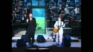 Simon Le Bon and Dolores O'Riordan - Linger (Live - for the children of Bosnia 1996)