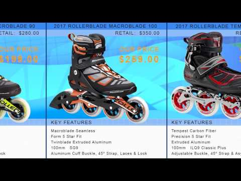 Video: 2017 Rollerblade Mens Inline Skate Buying Guide by InlineSkatesDotCom