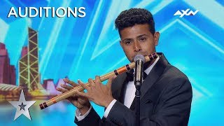 Sudhir.R SURPRISED Everyone With His Music | Asia's Got Talent 2019 on AXN Asia