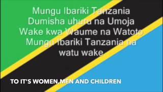 TANZANIA NATIONAL ANTHEM-Swahili and English version