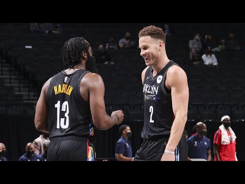 Blake Griffin Dunks in Nets Debut vs Wizards! 2020-21 NBA Season